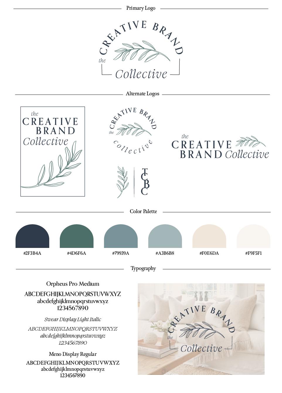 Creative Brand Collective Full Brand Guide